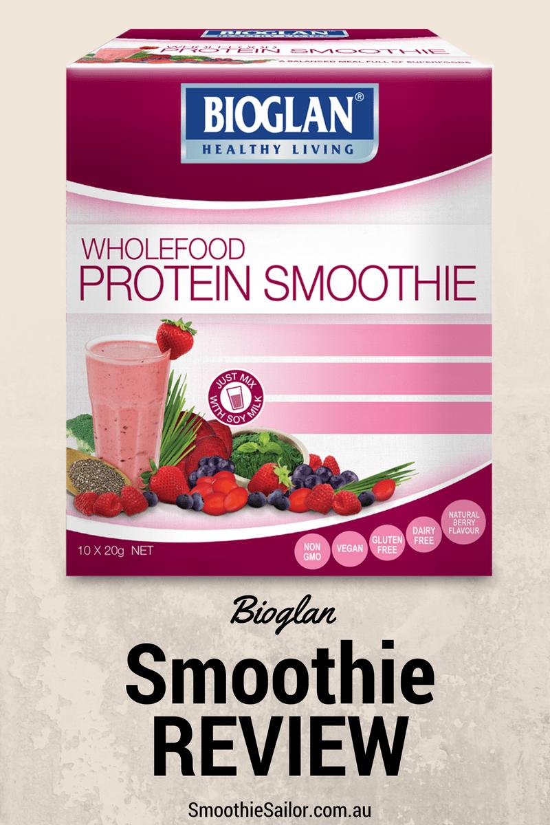 Bioglan berry smoothie protein powder review