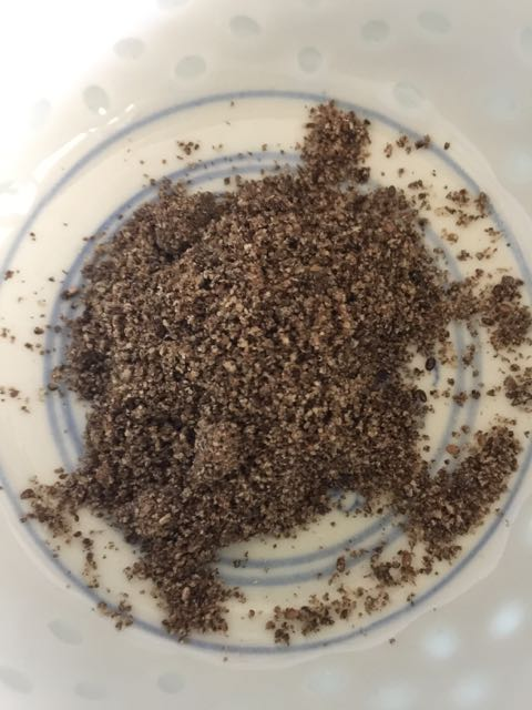 Chia ground seed