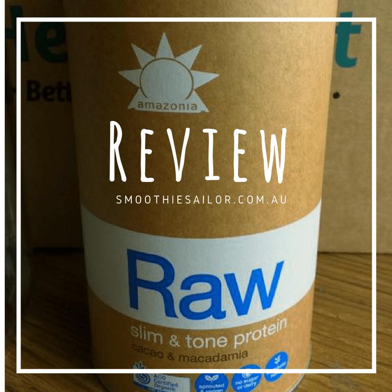 Amazonia Raw slim & tone review