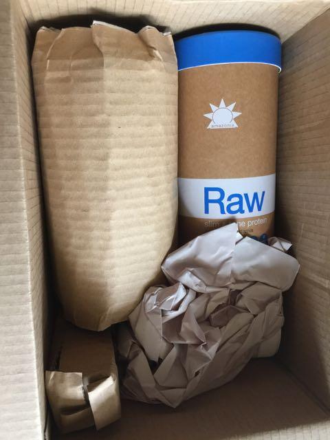 Healthpost order of Amazonia Raw Slim&Tone Protein