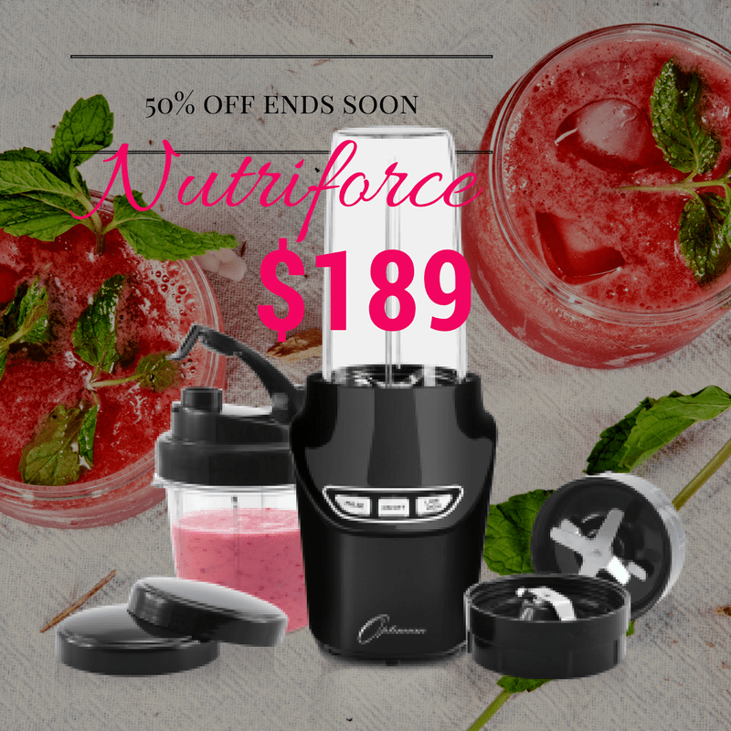Optimum Nutriforce Extractor - preorder sales ending soon, 50% off = $189
