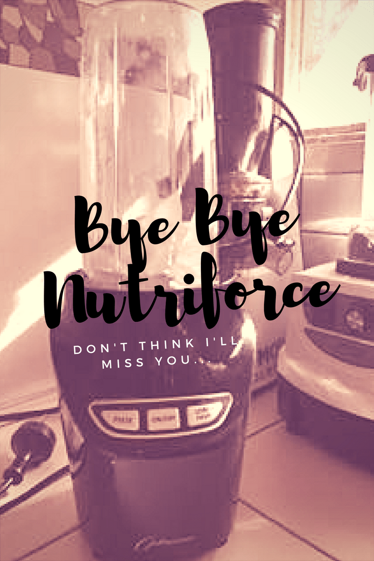 Optimum Nutriforce Extractor Review - Why I'm Sending it back | SmoothieSailor.com.au