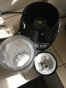 Nutriforce Extractor blender pulverised ice