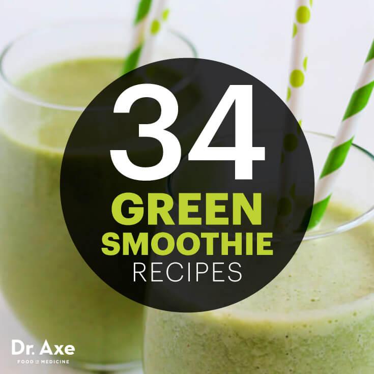 34 Green Smoothie Recipes
