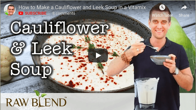 Cauliflower-leek-blender-soup-recipe