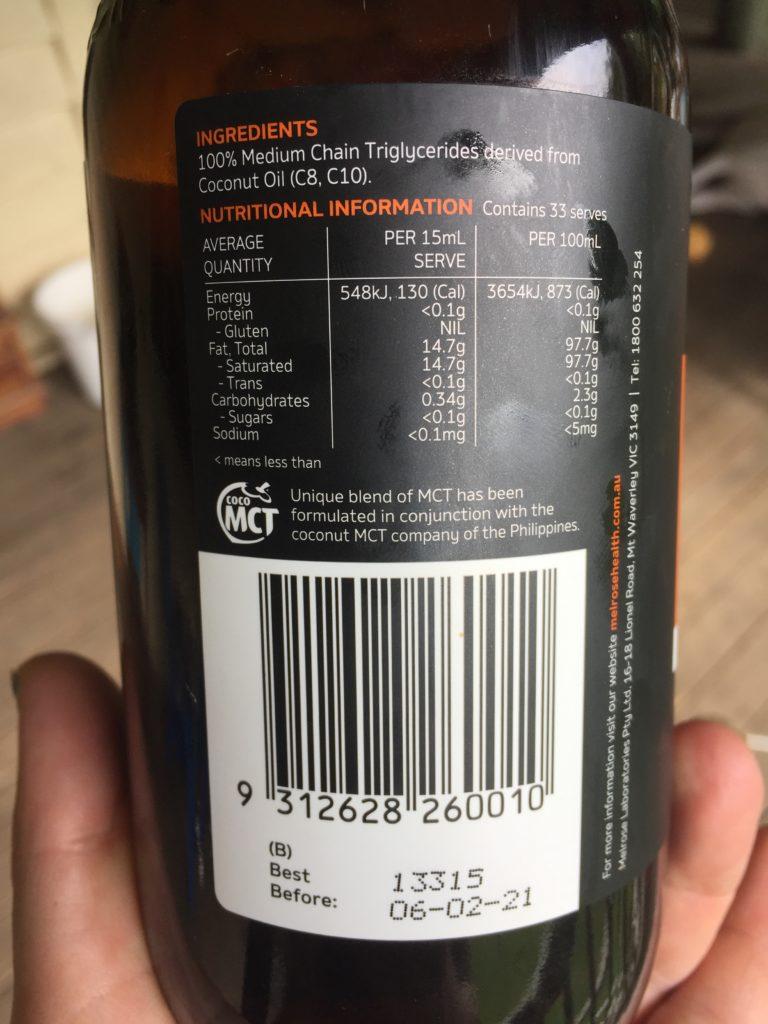 Melrose-MCT-oil-ingredients